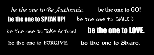 Be the One - Back