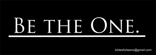 Be the One - Front